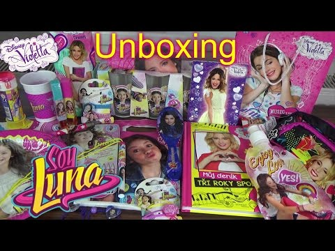 Unboxing - Soy Luna, Violetta...