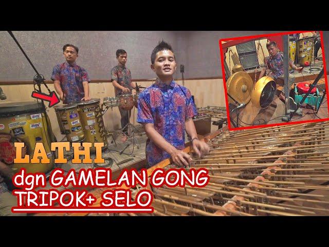LATHI Angklung Versi Perkusi Tripok+ Bass Selo+ Gamelan JOSS (Angklung New Carehal Malioboro)