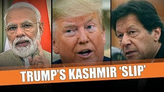 Opinion: Can Trump act on his Kashmir 'slip' or mere words to appease Pak?
