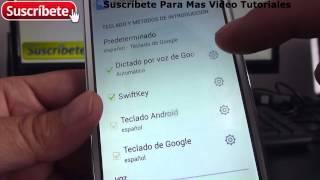 Alcatel Onetouch Pop C7 Cómo se desactiva el texto predictivo Android