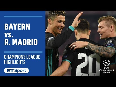 Bayern 1-2 Real Madrid: Champions League Highlights (Kimmich, Marcelo, Asensio)