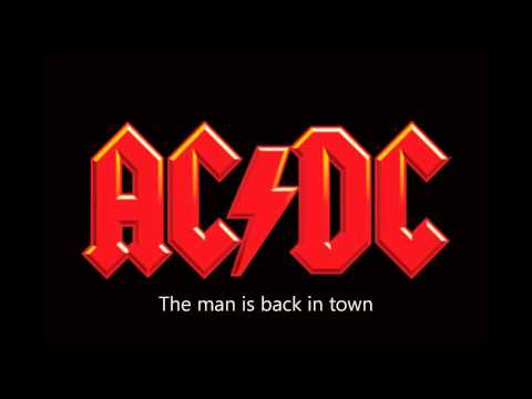 AC/DC - TNT Lyrics