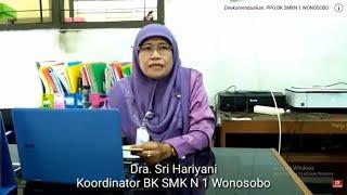 Testimoni Koordinator BK SMK N 1 Wonosobo untuk mahasiswa PPL PPGDJ tahun 2018