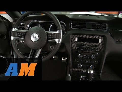 Mustang Carbon Fiber Dash Overlay Kit (10-14 All) Review