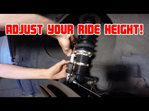 How to Adjust Coilovers