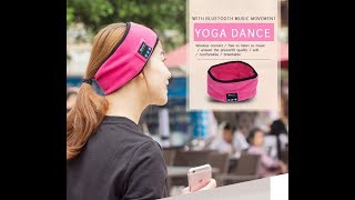 New Highlights of Knitting Speaker Bluetooth Headband Music Headband 2018
