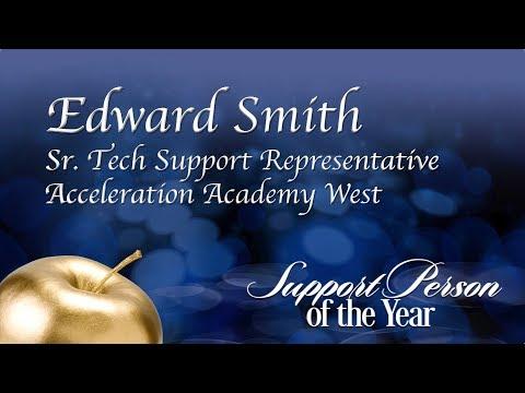 OCPS | SPOY 2018 Edward Smith, —Senior Technology Support Representative —Acceleration West HS