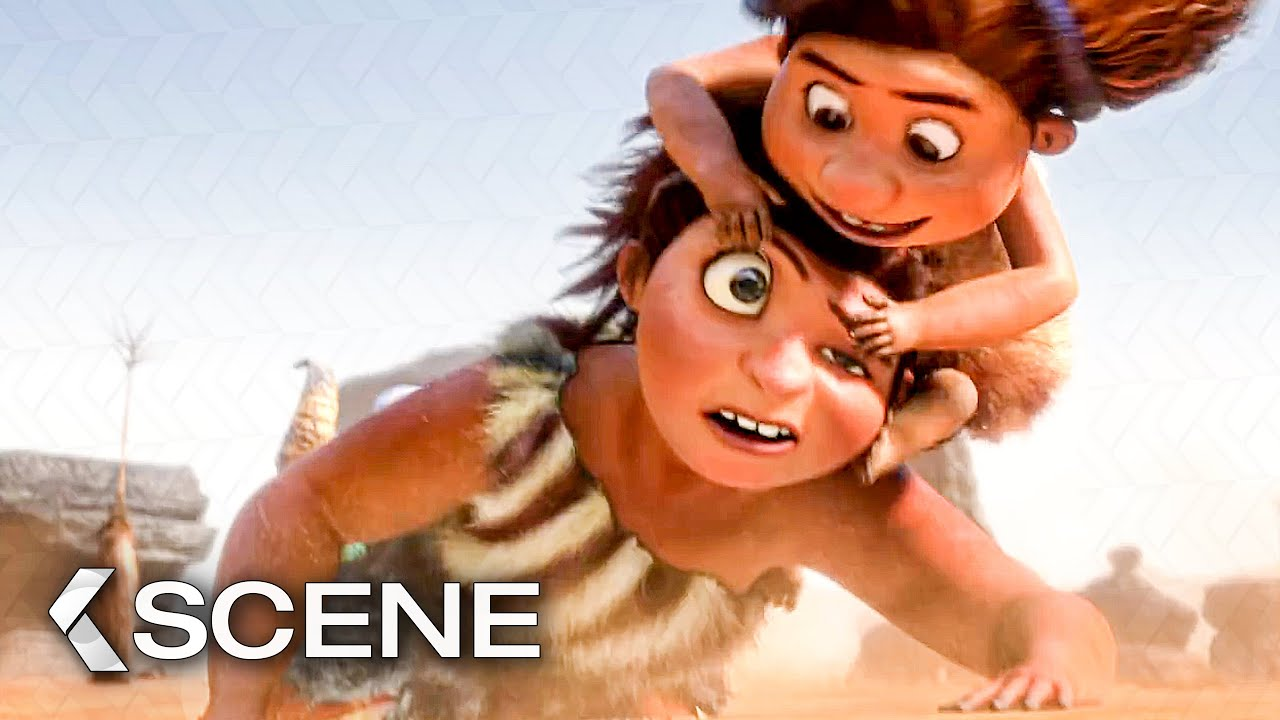 Download Hunting For Breakfast - THE CROODS Movie Clip (2013)