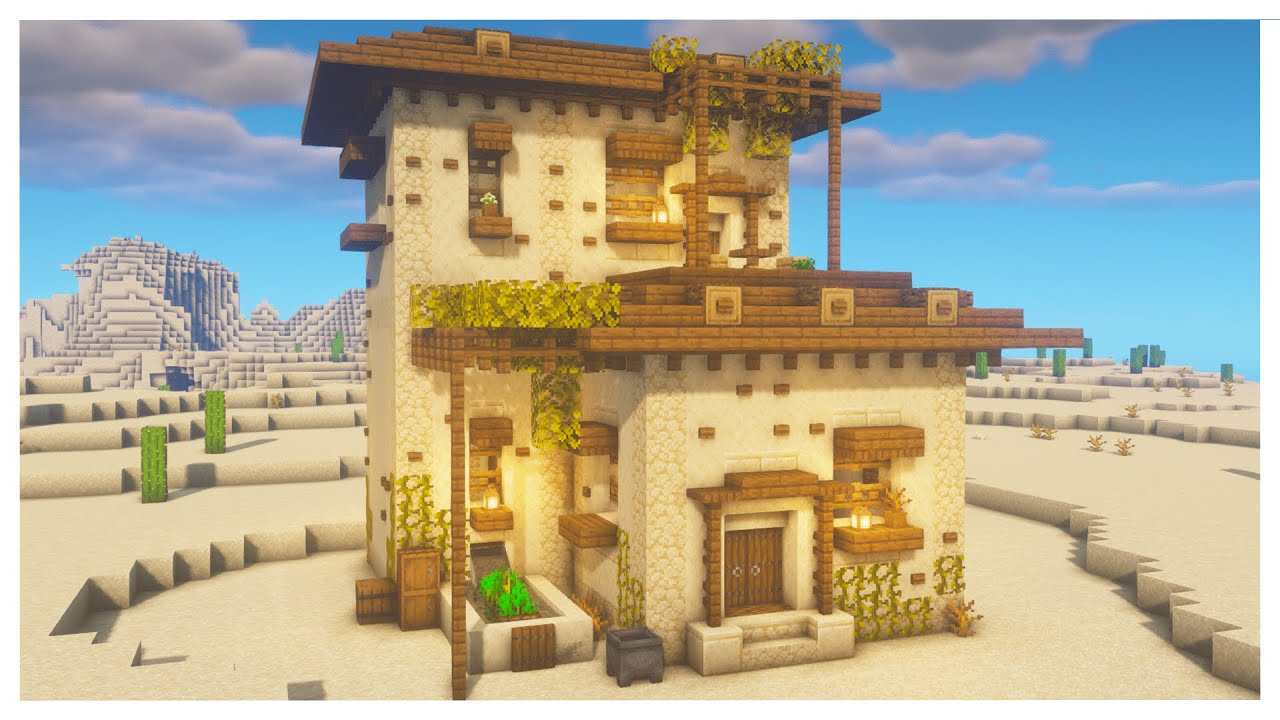 Minecraft: How To Build A Desert House Tutorial