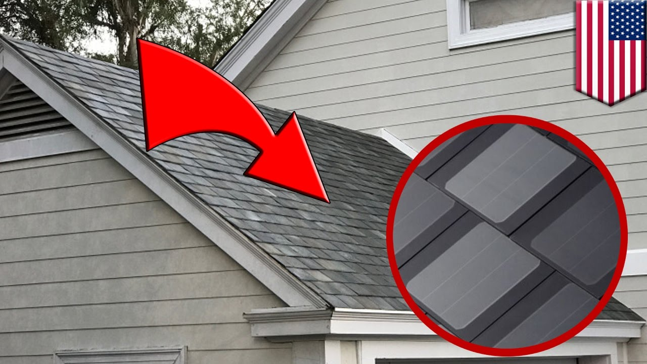 Tesla Solar Roof New Tesla Solarcity Panels Look Just