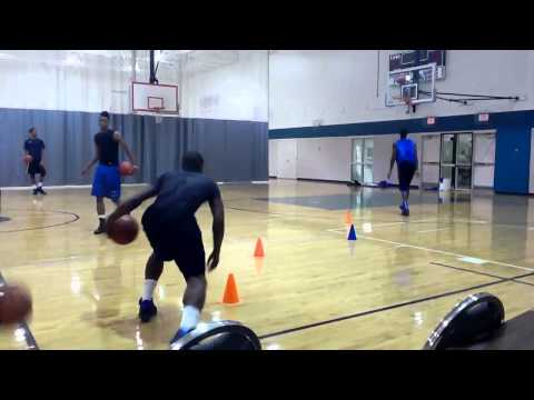 Coach Jevonte Holmes - Basketball Workout Part1