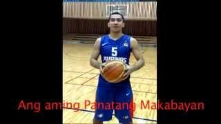 """Smart Gilas Pilipinas """"Ang Panatang Makabayan""""  (The Patriotic Oath) Team Pilipinas"""