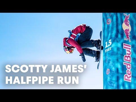 Scotty James' halfpipe run at Burton US Open 2018.