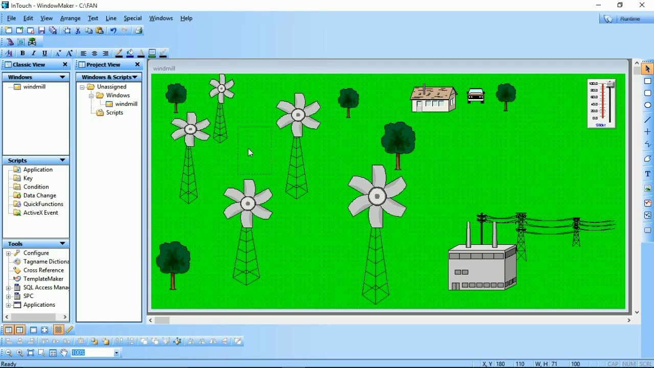 SCADA monitoring software | wind power generator | SCADA System | Automation