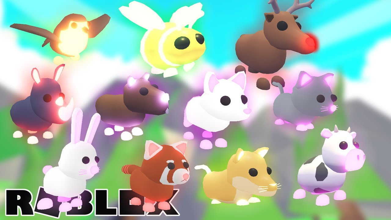 We Made 11 More Neon Pets Roblox Adopt Me Youtube