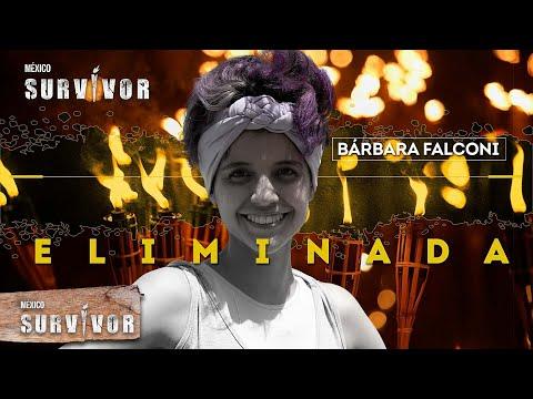 Concluye el camino de Bárbara Falconi en Survivor México. | Survivor México 2021
