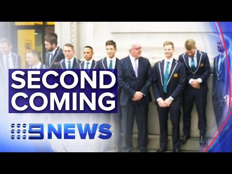Australian Cricket Team Hosted By High Commissioner In London | Nine News Australia
