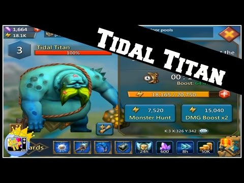 Lords Mobile: Introducing Big Guys Cousin Tidal Titan | F2P Accessory!!!