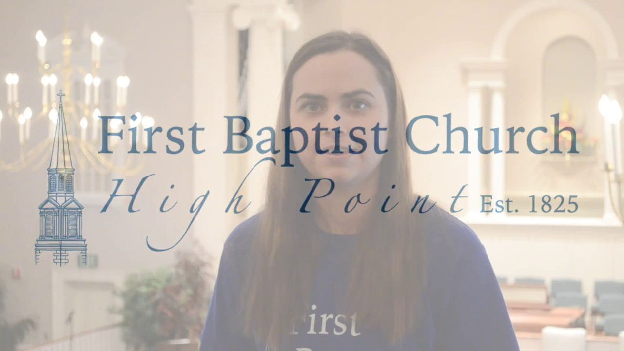 We Have a Story to Tell - First Baptist Church, High Point, NC