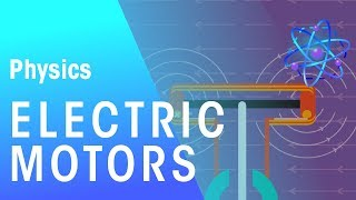 Electric Motors | Magnetism | Physics | FuseSchool
