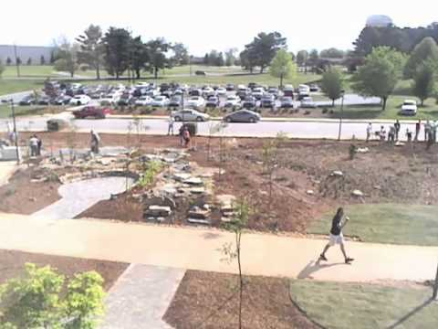 Spartanburg Community College - Time Lapse of Cabeana Gardena Installation