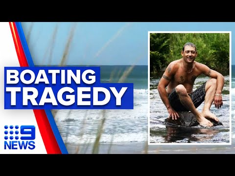 Father dies in tragic drowning on birthday | 9 News Australia thumbnail