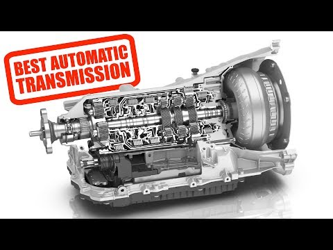 Why So Many Carmakers Use ZF's Eight-Speed Automatic Gearbox
