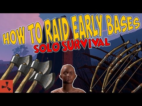 HOW TO RAID EARLY GAME BASES | Rust thumbnail