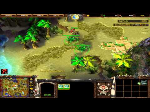 Warcraft 3 TFT - Island Defense #2
