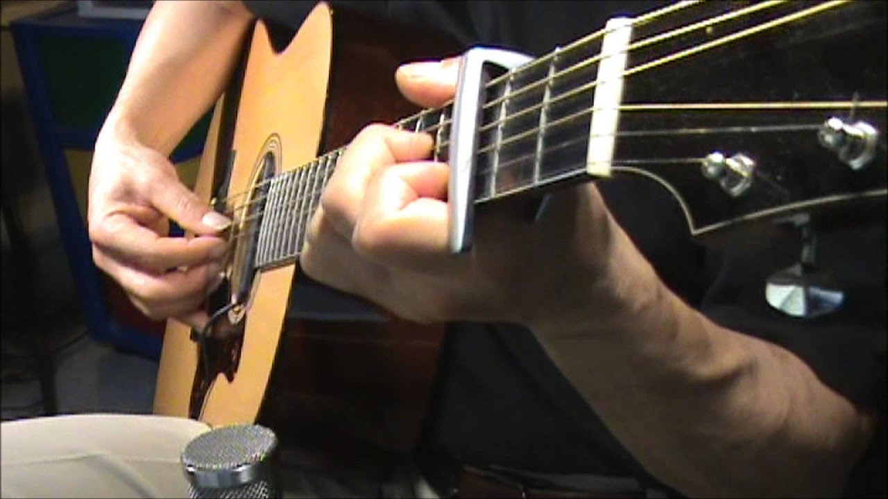 Fireflies Owl City Cover Fingerstyle Chords No Harmony Digital