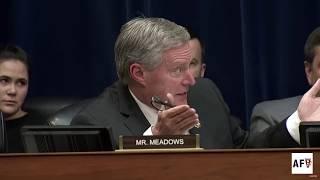 Rep. AOC Owns Rep. Mark Meadows at Wilbur Ross Hearing