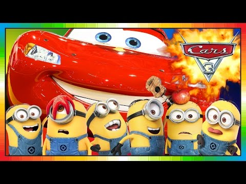 Thumbnail: Cars 3 ★★ 2017 ★★ Mini Movie Animation 05 ★★ McQueen overrides MINIONS ★★ ( funny ) ★★