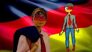 Как рисовать Германию. Живые комиксы. Озвучка комиксов по COUNTRYHUMANS Speedpaint (спидпейнт)