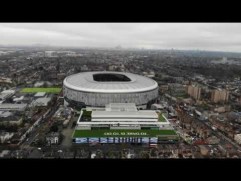 New Tottenham Hotspur FC Stadium in 4K Video Part 1