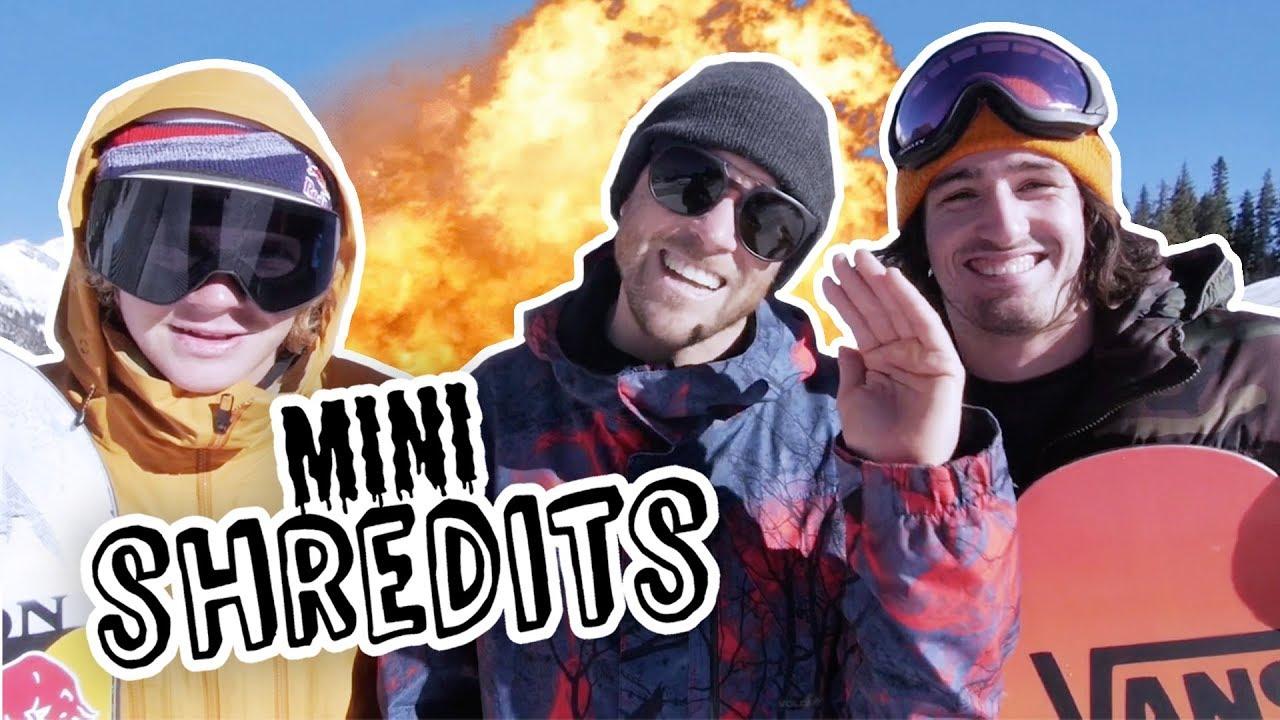 Two Snowboarders, One Challenge: The Euro Limbo | Mini Shredits