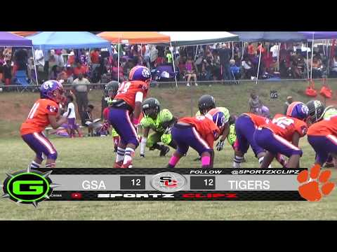 North Henry TIGERS 8U vs GSA | YOUTH BALLERS | BIG GAME
