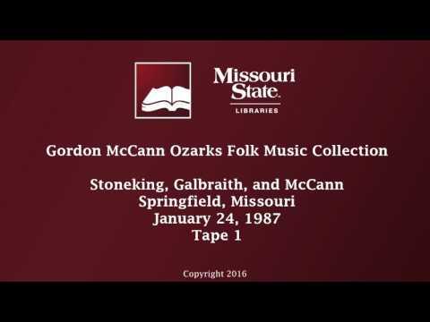 McCann: Stoneking, Galbraith, and McCann, January 24, 1987