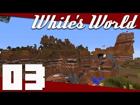 Minecraft: White's World - 003 - Exciting Exploration!   Minecraft 1.11 Survival Singleplayer