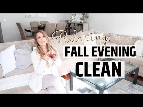 🍁🍂RELAXING FALL EVENING CLEAN WITH ME | EVERYDAY CLEANING MOTIVATION | FALL SPEED CLEAN TIME 2019