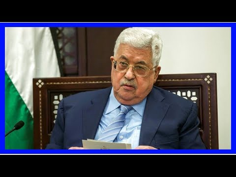 Breaking News | Palestinian President Mahmoud Abbas hospitalized with fever