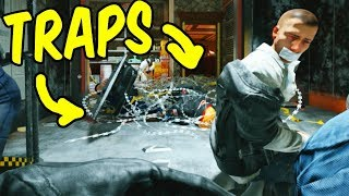 FILL THE ROOM WITH TRAPS! - Rainbow Six Siege Funny Moments (Siege Week)