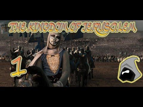 Ep1 Kingdom of Jerusalem Broken Crescent Kingdoms 2.4 Mod Medieval 2 Total War