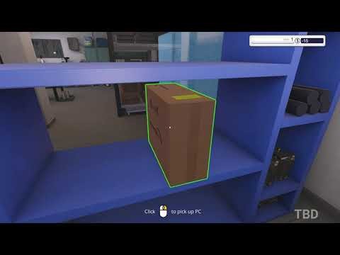 PC Building Simulator   Overclockers UK Workshop Gameplay PC  