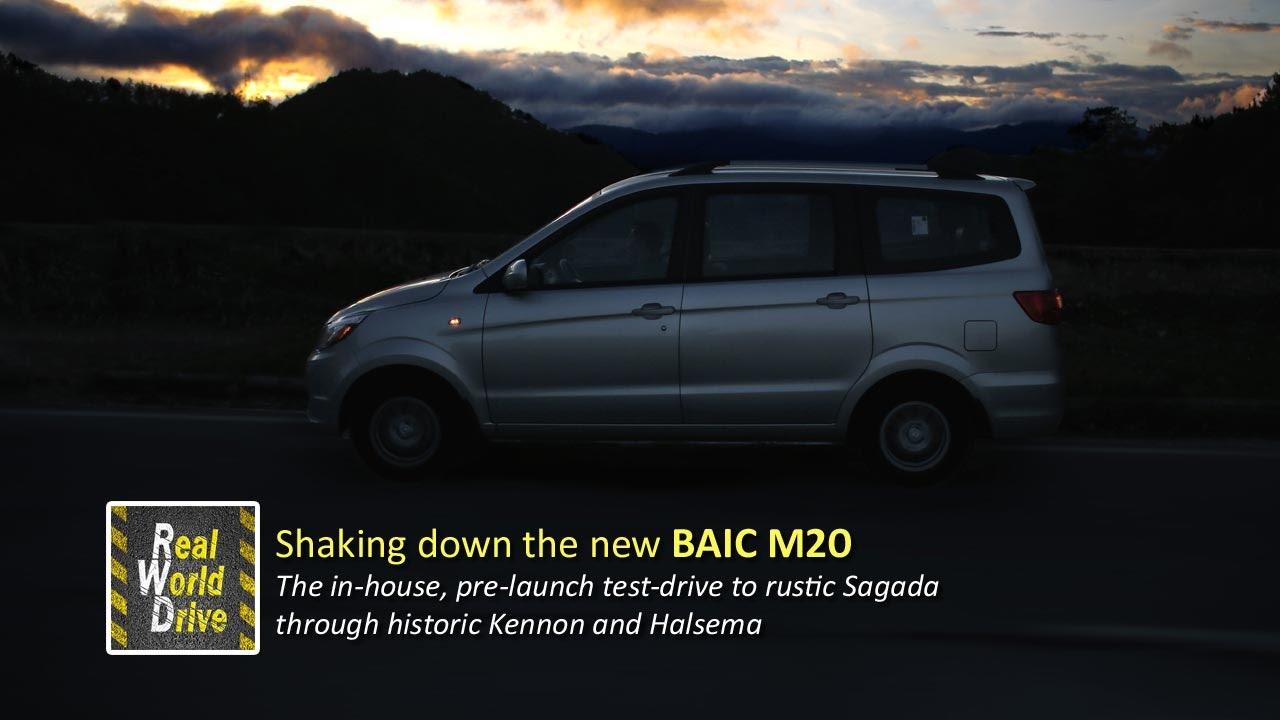 The New Baic M20 On Its Shakedown Cruise To Sagada Youtube