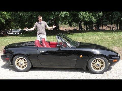 Вот почему оригинальная Mazda Miata - это легенда