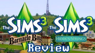 LGR - The Sims 3 Barnacle Bay & Hidden Springs Review