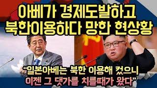 일본 아베가 경제도발하고 북한이용하다 망한 현상황, 북에 끌려갔다던 일본인 일본에서 자꾸발견