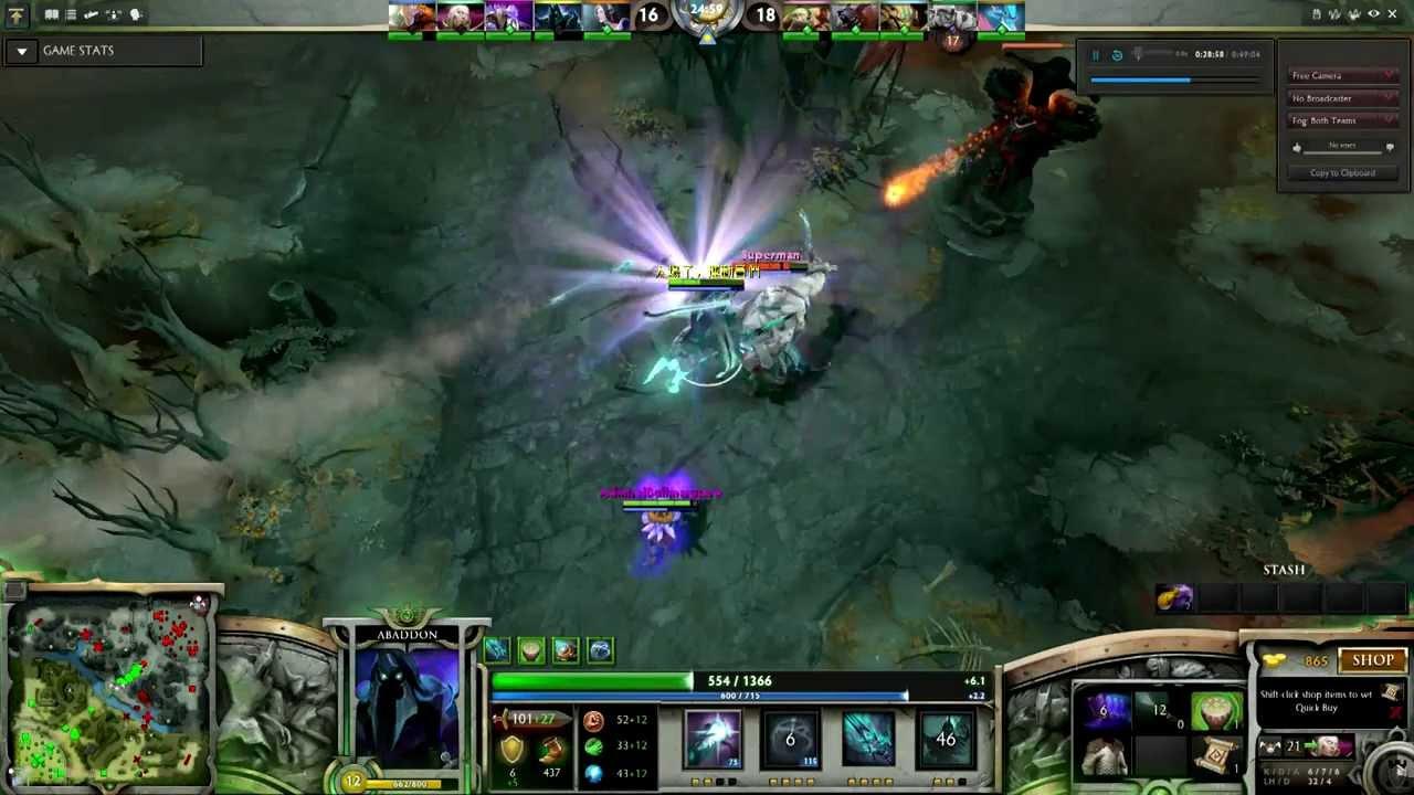 HD]Dota 2 Dark Seer INSANE EPIC Vacuum!!! - YouTube