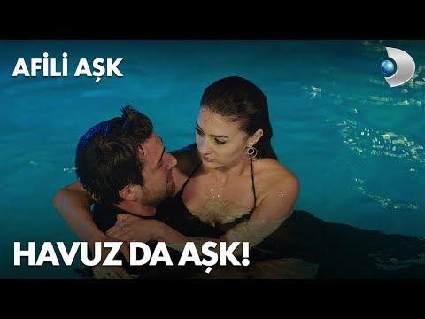Ayşe ve Kerem'in havuz yakınlaşması! - Afili Aşk 9. Bölüm