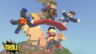 Minecraft: SKY WARS PARAQUEDAS - TROLLANDO OS AMIGOS ‹ AM3NIC ›